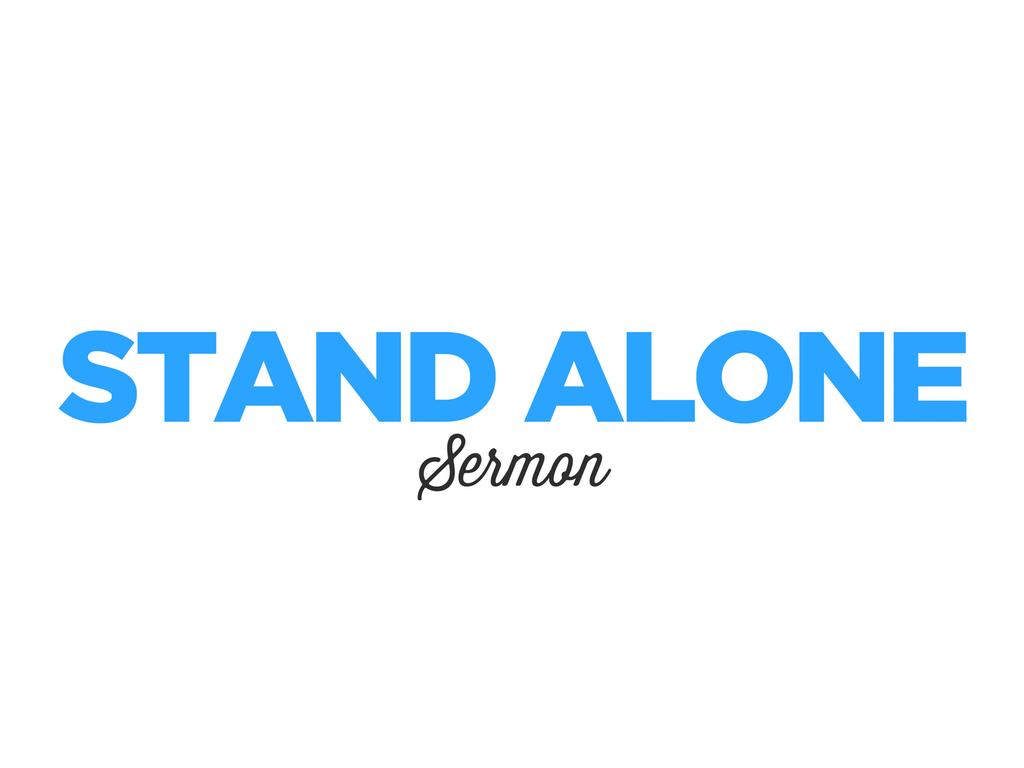 Stand Alone Sermon for Slider 3