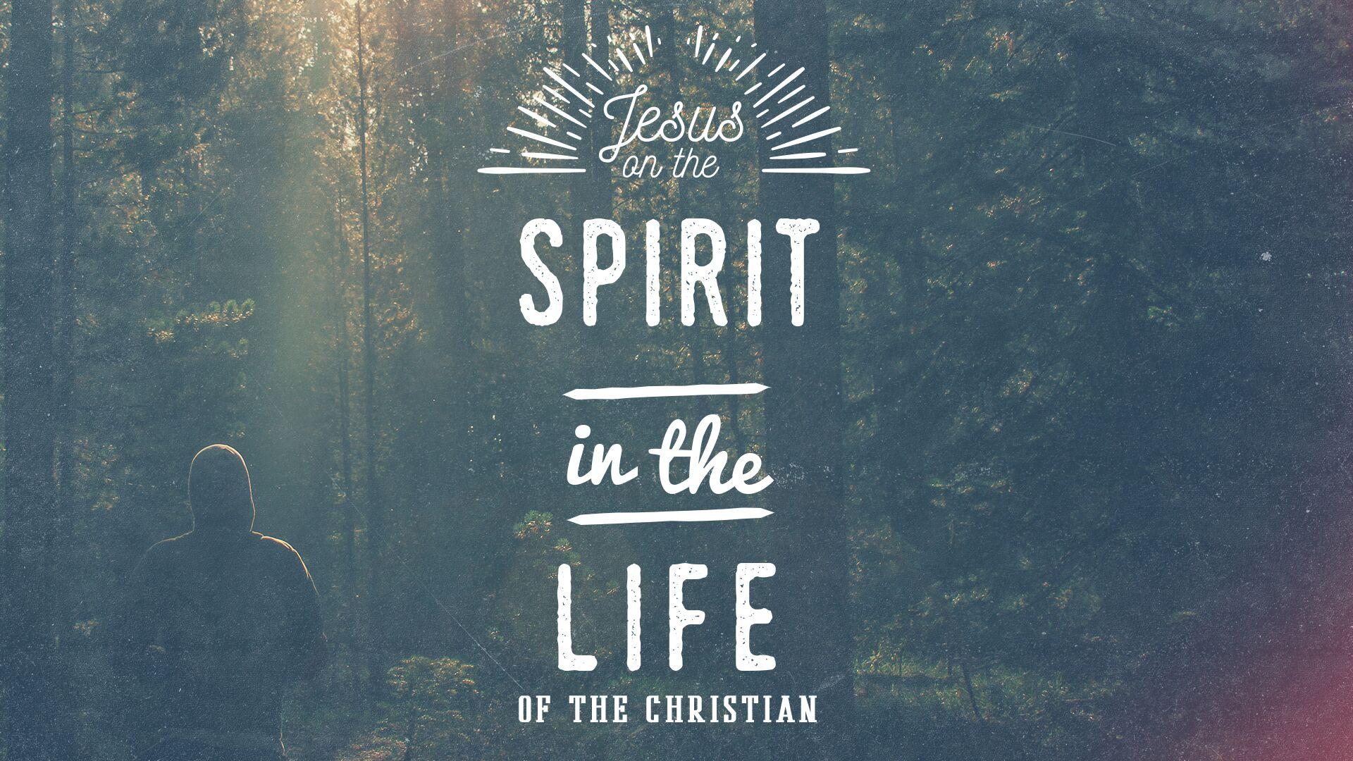 Jesus on the Spirit landing page